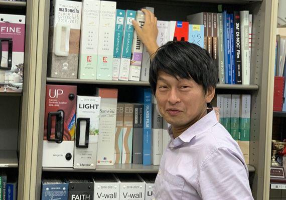 アルファリフォームの課長代理 川元 亮(かわもと りょう Ryou Kawamoto)入社7年目。
